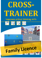 Cross Trainer Family - 3 user licence (New Zealand Delivery Only)